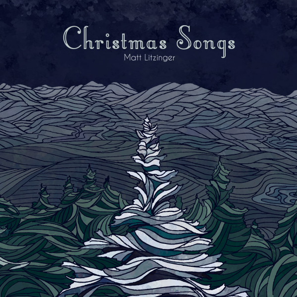 Christmas Songs album artwork - Matt Litzinger