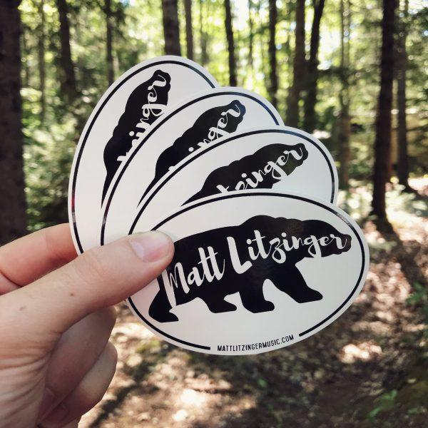FREE stickers from Matt Litzinger Music